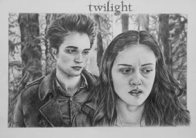 Edward and Bella-new upload by ladybird88