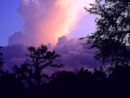 Sunset Thunderstorm Texas Hill Country by kellimays