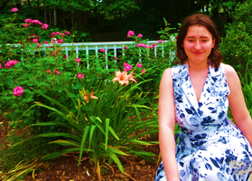The Flowers and Me (Oversaturated) by Atlantagirl