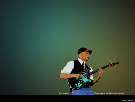 Tom Morello -part 2 of 5- by Bewilderbeast