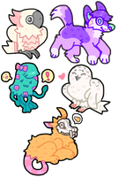 MINIS BATCH #1 by caninehell