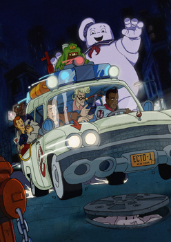 The Real Ghostbusters #16 comic cover by T-RexJones