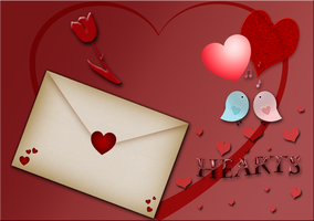 Valentine Hearts 2015 by WDWParksGal-Stock