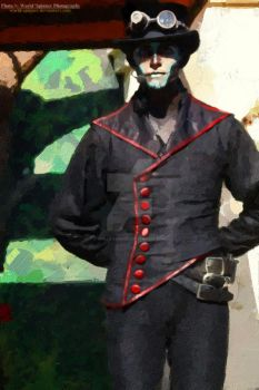 Rabbit (Steam Powered Giraffe) @ the Zoo by World-Spinner