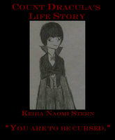 Count Dracula's Life Story -- Book Cover by yasminopalcaster