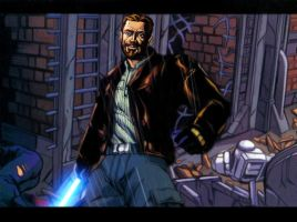 Kyle Katarn by oliatoth