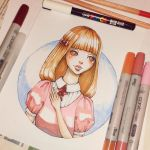 Copic Practice by Ninelyn