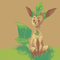 leafeon!!!!!!!!!!!! by haemorrhoid