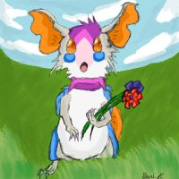 Very Little Contest Entry: Collecting Flowers by Ikari-Fang