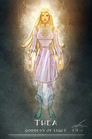 Space Goddess of Light