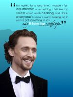 Tom's Words - Say it from the Rooftops by BoleynChic