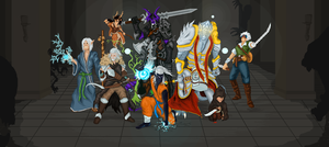 Complete Dungeons and Dragons The Silver Manes by Kassa10
