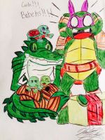TMNT: BABBIEEEHHSSSS!!!  - Collab/ Gift by XxMoonlight-1-WishxX
