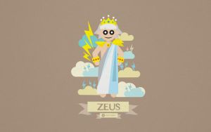 Greek Mythology Character Design - Zeus