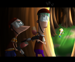 43.Duel- Paintball by kiki-kit