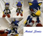 Classic Metal Sonic poses by ShadowStanEnvy