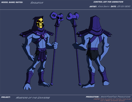 AP Skeletor by KrisSmithDW