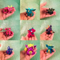 Blind boxes  by HereThereBeSculpture