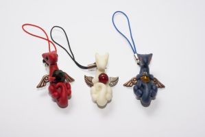 Baby Dragon Charms 2 by Sailyonera