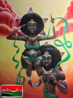 Remember Divinity - AfroArtIvy - Afrocentric Art by Seanseyes