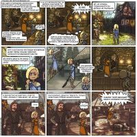 8-page Skyrim comics rus ver by Oessi