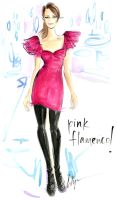 Pink Flamenco by jenniferlilya