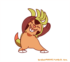 Chespin by bluekomadori