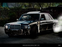 MERCEDES BENZ MISSILE CAR by panos46
