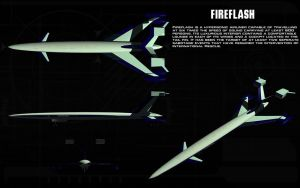 Fireflash hypersonic airliner ortho by unusualsuspex