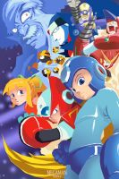 MegaMAN by lorddeimons