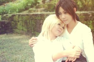 YumiKuri :: Safe In Your Arms by dancingontightrope