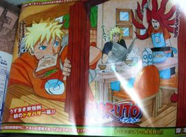 Naruto 503 cover - color by Thecmelion