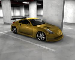 Fast'n Furious 350z - Scene by Snipehunter4