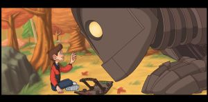 The Iron Giant by LuigiL