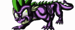 here is just spike, not faded no bg. by kindalkaykay