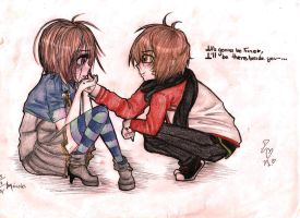 I'll be beside you... always and forever by Kawaii-ShuMii