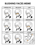 Vlasse Blushing Meme by HappyFridge