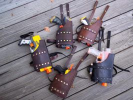 Holsters by SteamViking