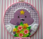 LSP Every Party is My Party Embroidery by iggystarpup