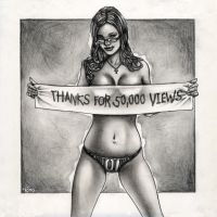 Thanks for 50,000 Views by ElConsigliere