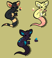 Baby Kangaroo adopts (open and points) by ForTheLoveOfWalrus
