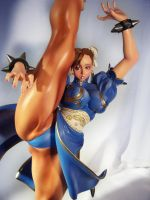 Chun-Li High kick by Shoko-Cosplay