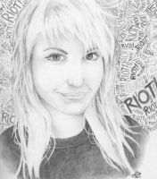 PARAMORE-Haley by bestsketch