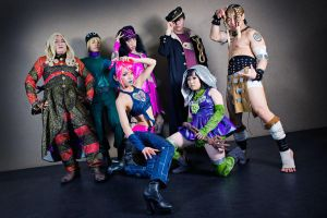 JoJo's Bizarre Adventure by DaisyDA
