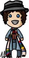 Doctor Who - Fourth Doctor by shrimp-pops