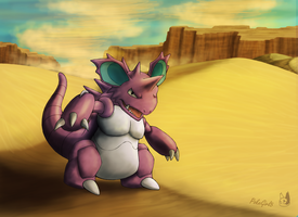 034 Nidoking by PokeGirl5