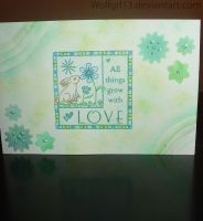 Spring love card by Wolfgrl13