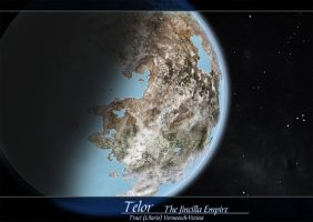 Telor - Spacescape Illustration by Ulario