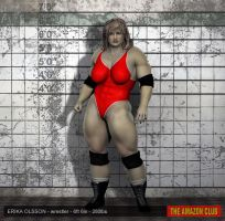 Erika Olsson - wrestler - 6ft 6in 280lbs - 02 by theamazonclub