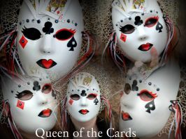 Queen of the Cards Collage by TheSterlingDragon